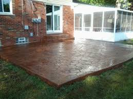 Exterior, Enchanting DIY Concrete Patio Ideas: Cool DIY Patio Ideas
