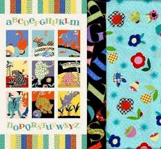 Easy Fabric Panel Quilt Kit Vintage Look Animal Alphabet Baby ... & Easy Fabric Panel Quilt Kit Vintage Look Animal Alphabet Baby Quilt -  product images of Adamdwight.com