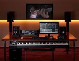 home studio recording equipment setup