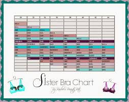 Your Correct Sister Bra Size By Barbies Beauty Bits