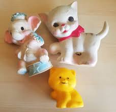 Vintage tinkle toy company baby toys