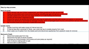 Method Of Statement Sample How To Write A Method Statement YouTube 6
