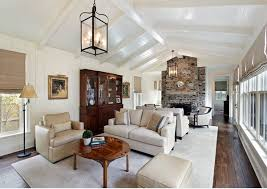 65 unique cathedral and vaulted ceiling designs in living rooms