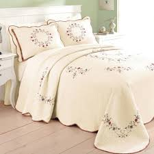 bedspread quilted bedspreads queen white bedspread size comforter sets cotton teal quilt solid color king