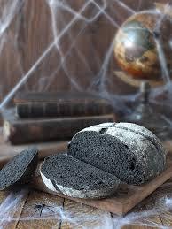 Halloween Rye Caraway Black Bread Recipe Elizabeths Kitchen Diary
