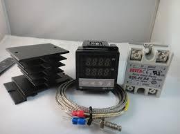 detalles acerca de 100 240 vca pid regulador de temperatura max 100 240vac pid temperature controller max 40a ssr heat sink 2m
