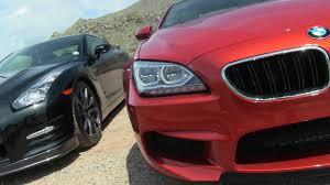 BMW 5 Series bmw m6 vs maserati granturismo : 2014 Nissan GT-R vs. BMW M6 0-60 MPH Mile High Mashup Review - The ...