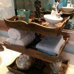 Bathroom Vanity Tray Decor Bathroom Aldabella Satin Gold Vanity Tray With Handles Bathroom 98