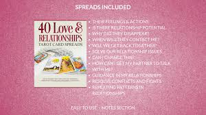 gabby conde 40 love tarot relationships card spreads