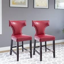 red leather bar stools. Red Leather Bar Stools T