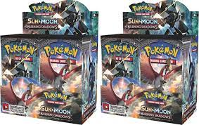 2017 Pokemon TCG Sun & Moon Burning Shadows Booster Box 2x Lot - 2017