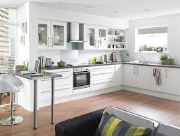 Interesting White Kitchen Wood Floor Beautiful Flooring Ideas Contemporary House And Design