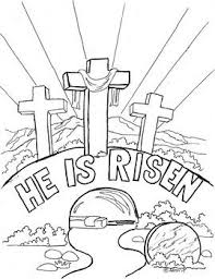 Free Printable Christian Easter Coloring Pages Classroom