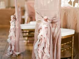 shabby chic wedding chair covers