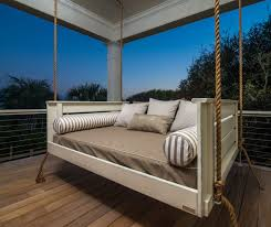 hanging patio bed outdoor swing for porch australia daybed plans diy