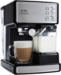 It was here the radio listeners heard the evil mr. Amazon Com Mr Coffee Espresso And Cappuccino Maker Cafe Barista Silver Semi Automatic Pump Espresso Machines Kitchen Dining