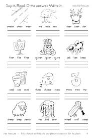 Help your beginning readers practice phonics and expand their reading vocabulary with this rhyme match worksheet. Vowel Diphthong Worksheets And Digraph Worksheets Printable Worksheets For Long Vowel Combinations E Digraphs Worksheets Vowel Teams Worksheets Vowel Digraphs