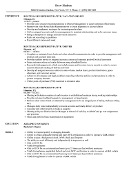 Sales Rep Resume Example Route Sales Representative Resume Samples Velvet Jobs 7