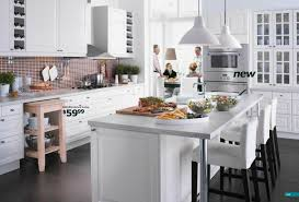 ikea large white kitchen interior design ideas