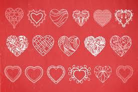 decorative heart vectors volume 1 decorative heart vectors volume 1