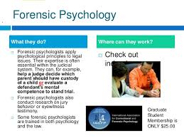 Psychology Careers First Steps Photography Gallery Sites Forensic