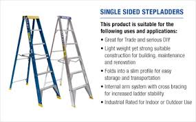 Ladder Height Chart Bailey Ladders Product Selector