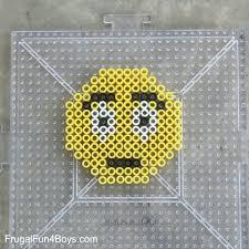 Emoji Perler Bead Patterns Best Emoji Perler Bead Keychains Frugal Fun For Boys And Girls