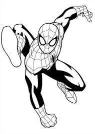 Kleurplaten Spiderman 4