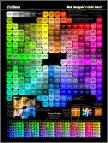 Web Color Chart Hexadecimal By Visibone