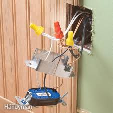 how to rough in electrical wiring family handyman types of electrical wiring at Electrical Wiring