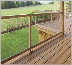 deck railing height picture