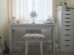 makeup desk ikea alex malm dressing table 1024x769 homeware haul o