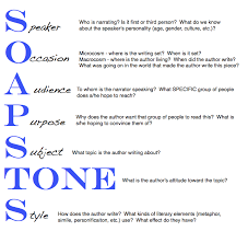 The Soapstone Strategy Works Well When Reading A Story