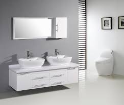 Double Mirrored Bathroom Cabinet Bathroom Wall Cabinets Brown Laminated Wooden Cabinet Double