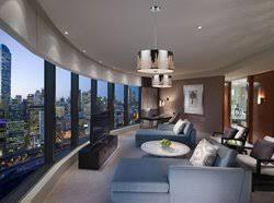 Family room lighting Transitional Ambient Lighting Provides Living Room Olshco Lam Lighting Design