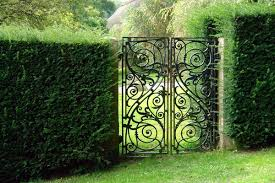 metal garden gates wrought iron garden gates or modern designs garden 1 30