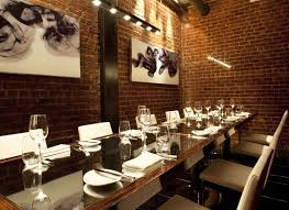 San Francisco Private Dining Rooms Decoration