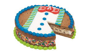 baskin robbins fathers day cookie cake