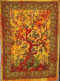 poster tree of life tapestry indian