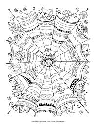 Print them on colored cardstock, and they'll look even better than the plain white. Free Halloween Coloring Pages For Adults Kids Happiness Is Homemade