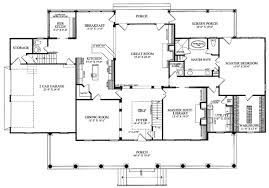 plantation house plans. Plain Plans Colonial Country Farmhouse Plantation Southern House Plan 86143 Level One To Plans S
