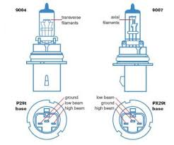 tercelonline com board 9004 to 9007 conversion powered by xmb 9007 Headlight Wiring Diagram the 9007 bulb design difference is the filaments are stretched from front to back which bounces the light in your lens and gets a better disbursement on the 9007 headlight bulb wiring diagram