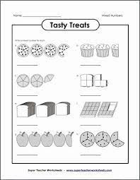 Enrich your students' math skills with the super teacher worksheets collection of perimeter worksheets and activities. Teacher Super Worksheets Math Lovely Tasty Treats Mixed Numbers Free Printable Worksheets Ideas