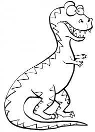 Dinosauro Dagli Occhi A Palla Da Colorare Disegni Da Colorare E