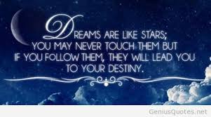 Dream For The Stars Quote