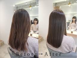 ロングなのに毛先がハネる髪のお悩み渋谷でカットだけでまとまる