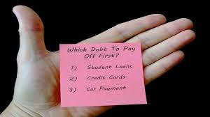 What Credit Cards To Pay Off First What Debt You Should Pay Off First