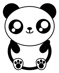 Disegno Da Colorare Kawaii Panda 7