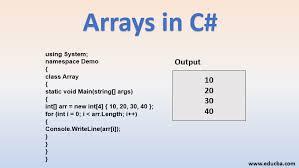 arrays in c how to create declare