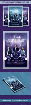 anniversary poster template church anniversary flyer template church flyers birthday